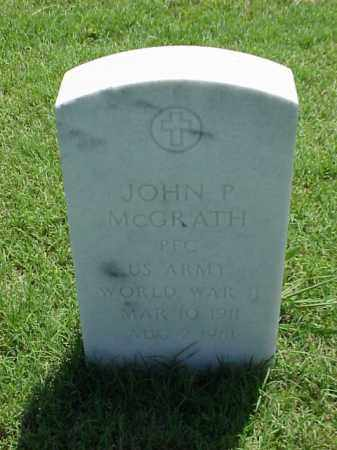 MCGRATH (VETERAN WWII), JOHN P - Pulaski County, Arkansas   JOHN P MCGRATH (VETERAN WWII) - Arkansas Gravestone Photos