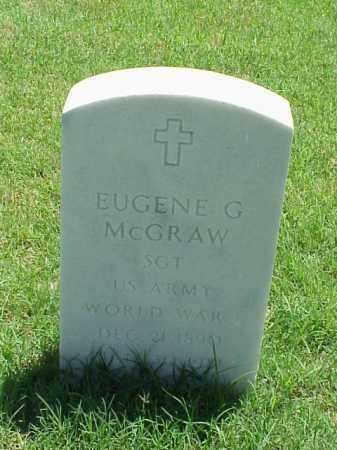 MCGRAW (VETERAN WWI), EUGENE G - Pulaski County, Arkansas | EUGENE G MCGRAW (VETERAN WWI) - Arkansas Gravestone Photos