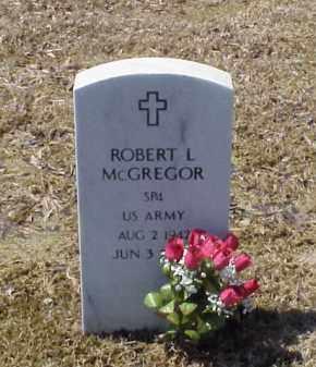 MCGREGOR (VETERAN), ROBERT L - Pulaski County, Arkansas | ROBERT L MCGREGOR (VETERAN) - Arkansas Gravestone Photos