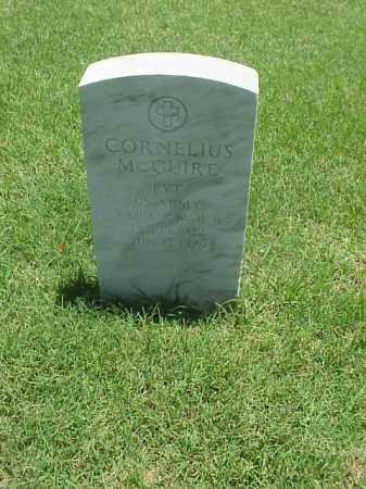 MCGUIRE (VETERAN WWII), CORNELIUS - Pulaski County, Arkansas | CORNELIUS MCGUIRE (VETERAN WWII) - Arkansas Gravestone Photos