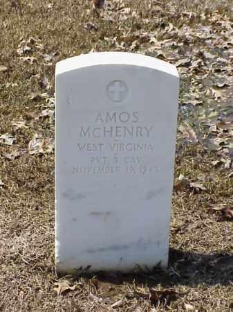 MCHENRY (VETERAN SAW), AMOS - Pulaski County, Arkansas | AMOS MCHENRY (VETERAN SAW) - Arkansas Gravestone Photos