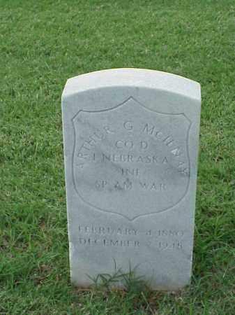 MCILNAY (VETERAN SAW), ARTHUR G - Pulaski County, Arkansas   ARTHUR G MCILNAY (VETERAN SAW) - Arkansas Gravestone Photos