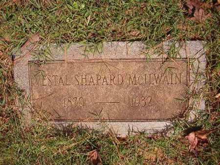 MCILWAIN, VESTAL SHAPARD - Pulaski County, Arkansas | VESTAL SHAPARD MCILWAIN - Arkansas Gravestone Photos