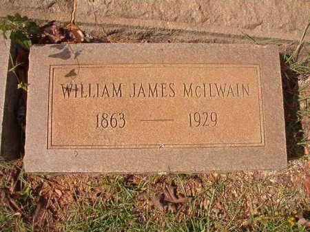 MCILWAIN, WILLIAM JAMES - Pulaski County, Arkansas   WILLIAM JAMES MCILWAIN - Arkansas Gravestone Photos