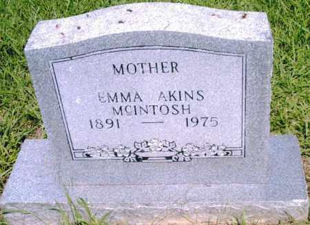 MCINTOSH, EMMA - Pulaski County, Arkansas | EMMA MCINTOSH - Arkansas Gravestone Photos