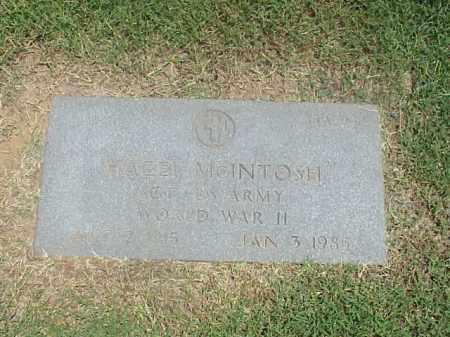 MCINTOSH (VETERAN WWII), HAZEL - Pulaski County, Arkansas   HAZEL MCINTOSH (VETERAN WWII) - Arkansas Gravestone Photos