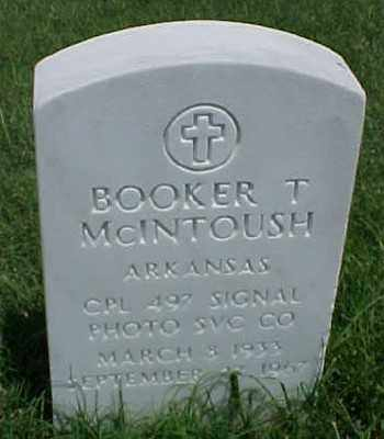 MCINTOUSH (VETERAN KOR), BOOKER T - Pulaski County, Arkansas | BOOKER T MCINTOUSH (VETERAN KOR) - Arkansas Gravestone Photos