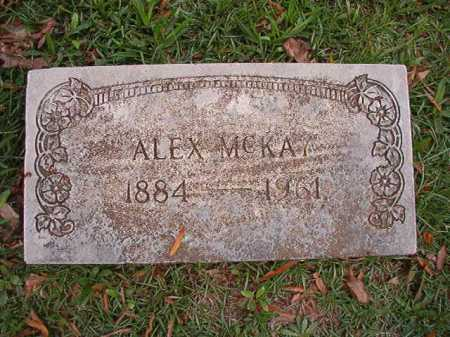 MCKAY, ALEX - Pulaski County, Arkansas | ALEX MCKAY - Arkansas Gravestone Photos