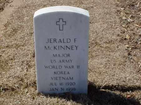 MCKINNEY  (VETERAN 3 WARS), JERALD F - Pulaski County, Arkansas | JERALD F MCKINNEY  (VETERAN 3 WARS) - Arkansas Gravestone Photos