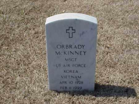 MCKINNEY (VETERAN 2 WARS), ORBRADY - Pulaski County, Arkansas   ORBRADY MCKINNEY (VETERAN 2 WARS) - Arkansas Gravestone Photos