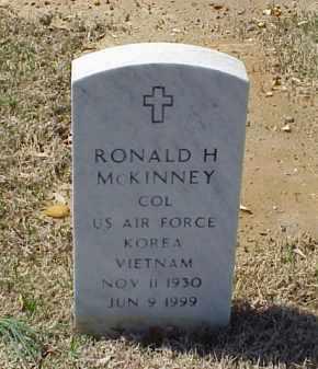 MCKINNEY (VETERAN 2 WARS), RONALD H - Pulaski County, Arkansas   RONALD H MCKINNEY (VETERAN 2 WARS) - Arkansas Gravestone Photos