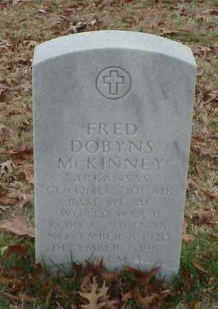 MCKINNEY (VETERAN 3 WARS), FRED DOBYNS - Pulaski County, Arkansas | FRED DOBYNS MCKINNEY (VETERAN 3 WARS) - Arkansas Gravestone Photos