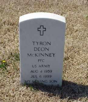 MCKINNEY (VETERAN), TYRON DEON - Pulaski County, Arkansas | TYRON DEON MCKINNEY (VETERAN) - Arkansas Gravestone Photos