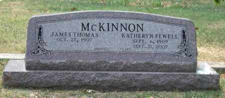 FEWELL MCKINNON, KATHERYN - Pulaski County, Arkansas | KATHERYN FEWELL MCKINNON - Arkansas Gravestone Photos