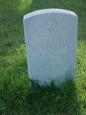 MCKINSTRY (VETERAN WWI), HARRY JOSEPH - Pulaski County, Arkansas | HARRY JOSEPH MCKINSTRY (VETERAN WWI) - Arkansas Gravestone Photos