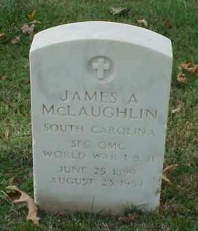 MCLAUGHLIN (VETERAN 2 WARS), JAMES A - Pulaski County, Arkansas   JAMES A MCLAUGHLIN (VETERAN 2 WARS) - Arkansas Gravestone Photos