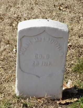 MCLAUGHLIN (VETERAN UNION), HUGH - Pulaski County, Arkansas   HUGH MCLAUGHLIN (VETERAN UNION) - Arkansas Gravestone Photos