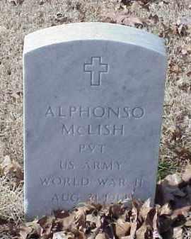 MCLISH (VETERAN WWII), ALPHONSO - Pulaski County, Arkansas | ALPHONSO MCLISH (VETERAN WWII) - Arkansas Gravestone Photos