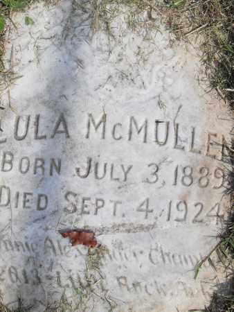 MCMULLEN, LULA - Pulaski County, Arkansas   LULA MCMULLEN - Arkansas Gravestone Photos