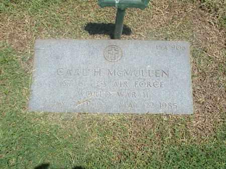 MCMULLEN (VETERAN WWII), CARL H - Pulaski County, Arkansas   CARL H MCMULLEN (VETERAN WWII) - Arkansas Gravestone Photos