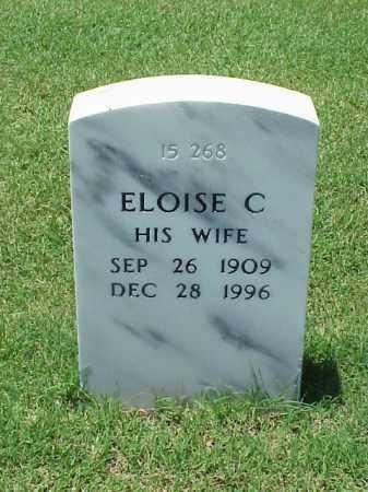 MCNEEL, ELOISE C - Pulaski County, Arkansas   ELOISE C MCNEEL - Arkansas Gravestone Photos