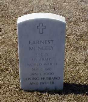 MCNEELY (VETERAN WWII), EARNEST - Pulaski County, Arkansas   EARNEST MCNEELY (VETERAN WWII) - Arkansas Gravestone Photos