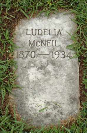 MCNEIL, LUDELIA - Pulaski County, Arkansas   LUDELIA MCNEIL - Arkansas Gravestone Photos