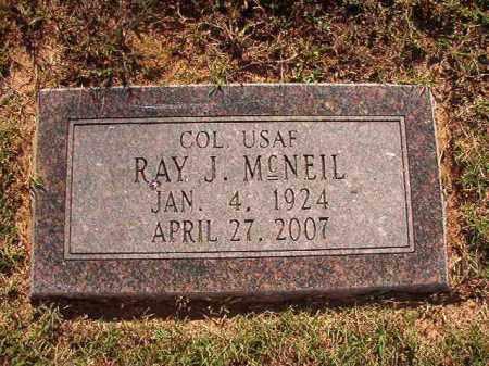 MCNEIL (VETERAN), RAY J - Pulaski County, Arkansas | RAY J MCNEIL (VETERAN) - Arkansas Gravestone Photos