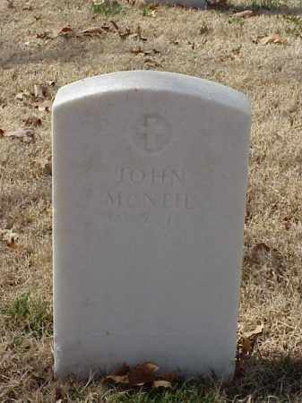 MCNEIL (VETERAN UNION), JOHN - Pulaski County, Arkansas   JOHN MCNEIL (VETERAN UNION) - Arkansas Gravestone Photos