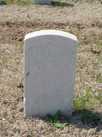 MCNEIL (VETERAN UNION), WALTER S - Pulaski County, Arkansas | WALTER S MCNEIL (VETERAN UNION) - Arkansas Gravestone Photos