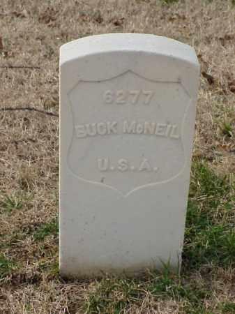 MCNEIL (VETERAN WWI), BUCK - Pulaski County, Arkansas   BUCK MCNEIL (VETERAN WWI) - Arkansas Gravestone Photos