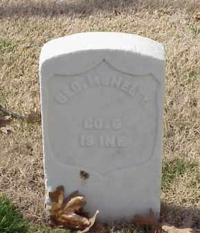 MCNELTY (VETERAN UNION), GEORGE - Pulaski County, Arkansas | GEORGE MCNELTY (VETERAN UNION) - Arkansas Gravestone Photos