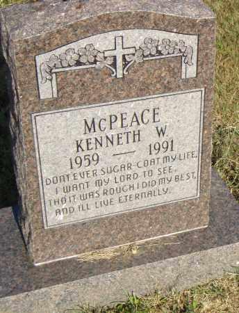 MCPEACE, KENNETH W. - Pulaski County, Arkansas | KENNETH W. MCPEACE - Arkansas Gravestone Photos