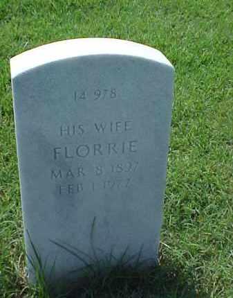 MACPHERSON, FLORRIE - Pulaski County, Arkansas | FLORRIE MACPHERSON - Arkansas Gravestone Photos