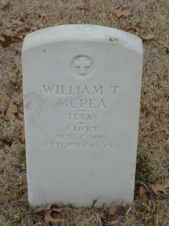 MCREA (VETERAN WWI), WILLIAM T - Pulaski County, Arkansas | WILLIAM T MCREA (VETERAN WWI) - Arkansas Gravestone Photos