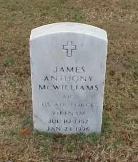 MCWILLIAMS (VETERAN VIET), JAMES ANTHONY - Pulaski County, Arkansas | JAMES ANTHONY MCWILLIAMS (VETERAN VIET) - Arkansas Gravestone Photos
