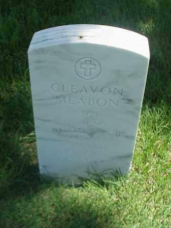 MEABON (VETERAN 3 WARS), CLEAVON - Pulaski County, Arkansas | CLEAVON MEABON (VETERAN 3 WARS) - Arkansas Gravestone Photos