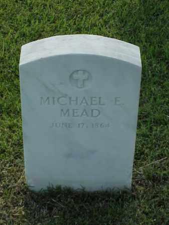 MEAD (VETERAN UNION), MICHAEL E - Pulaski County, Arkansas   MICHAEL E MEAD (VETERAN UNION) - Arkansas Gravestone Photos