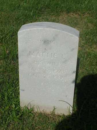 MEADOWS, MATTIE L - Pulaski County, Arkansas   MATTIE L MEADOWS - Arkansas Gravestone Photos