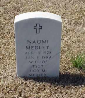 MEDLEY, NAOMI - Pulaski County, Arkansas | NAOMI MEDLEY - Arkansas Gravestone Photos