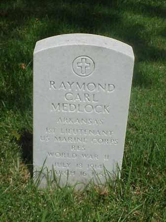 MEDLOCK (VETERAN WWII), RAYMOND CARL - Pulaski County, Arkansas   RAYMOND CARL MEDLOCK (VETERAN WWII) - Arkansas Gravestone Photos