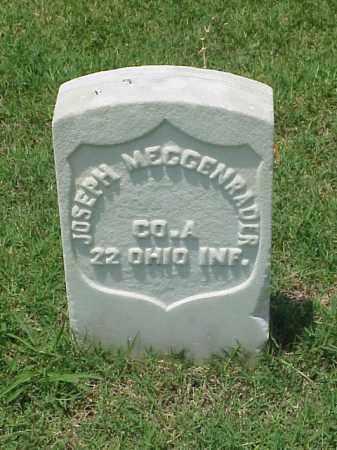 MEGGENRADER (VETERAN UNION), JOSEPH - Pulaski County, Arkansas | JOSEPH MEGGENRADER (VETERAN UNION) - Arkansas Gravestone Photos
