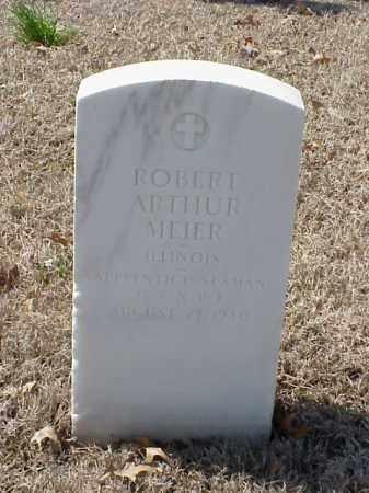 MEIER (VETERAN WWI), ROBERT ARTHUR - Pulaski County, Arkansas   ROBERT ARTHUR MEIER (VETERAN WWI) - Arkansas Gravestone Photos