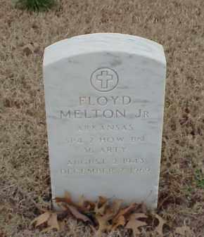 MELTON, JR  (VETERAN), FLOYD - Pulaski County, Arkansas | FLOYD MELTON, JR  (VETERAN) - Arkansas Gravestone Photos