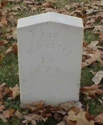 MELTON (VETERAN CSA), A - Pulaski County, Arkansas | A MELTON (VETERAN CSA) - Arkansas Gravestone Photos