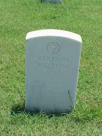 MELTON (VETERAN WWII), VERNON - Pulaski County, Arkansas   VERNON MELTON (VETERAN WWII) - Arkansas Gravestone Photos