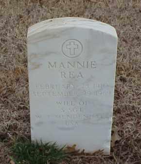 MENDENHALL, MANNIE REA - Pulaski County, Arkansas | MANNIE REA MENDENHALL - Arkansas Gravestone Photos