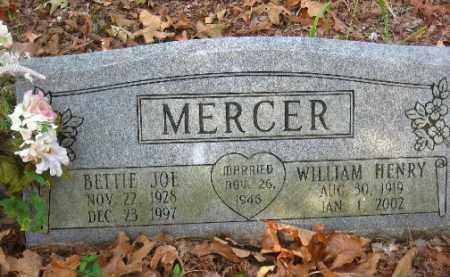 MERCER, WILLIAM HENRY - Pulaski County, Arkansas | WILLIAM HENRY MERCER - Arkansas Gravestone Photos