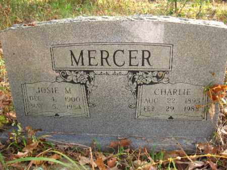 MERCER, JOSIE M. - Pulaski County, Arkansas | JOSIE M. MERCER - Arkansas Gravestone Photos
