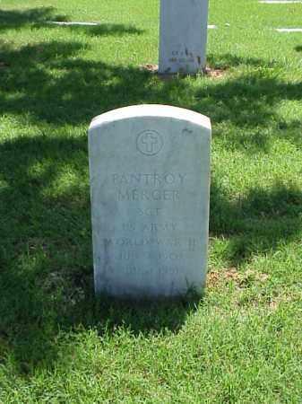 MERCER (VETERAN WWII), PANTROY - Pulaski County, Arkansas   PANTROY MERCER (VETERAN WWII) - Arkansas Gravestone Photos